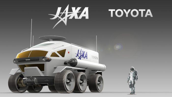 Expressas: Toyota desenvolve veículo lunar