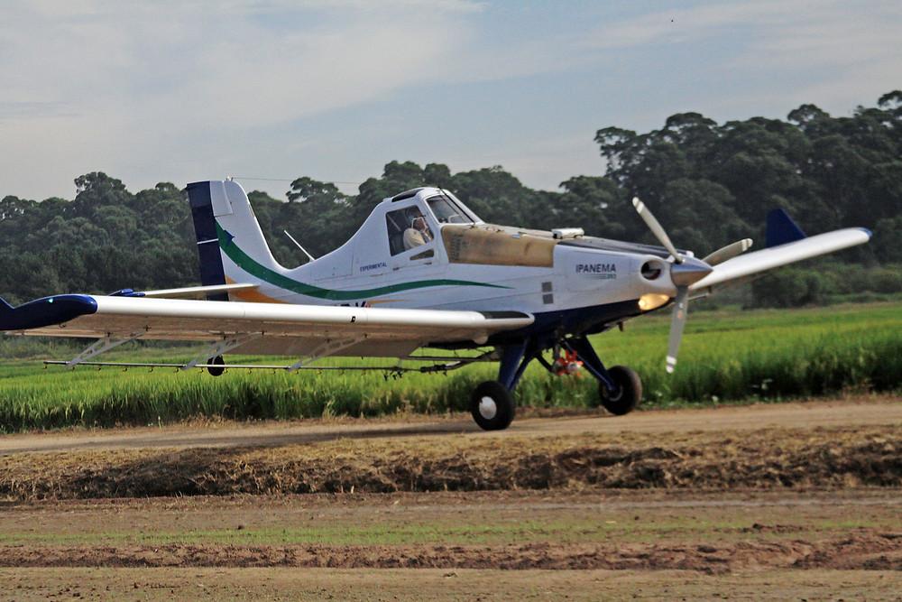 Brasil tem 2083 aviões e 6 helicópteros agrícolas, 240 empresas aeroagrícolas e 548 operadores privados