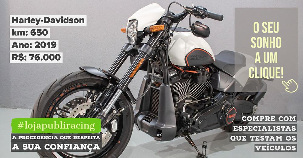 ACESSE #LOJA PUBLIRACING - Harley-Davidson Ano 2019