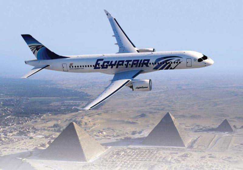 EgyptAir converte Intenção de compra em pedido firme para aviões Bombardier Série C
