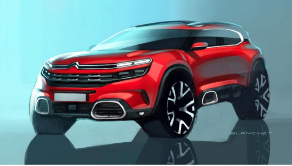 O novo Citroën C5 Aircross deverá ser assim.