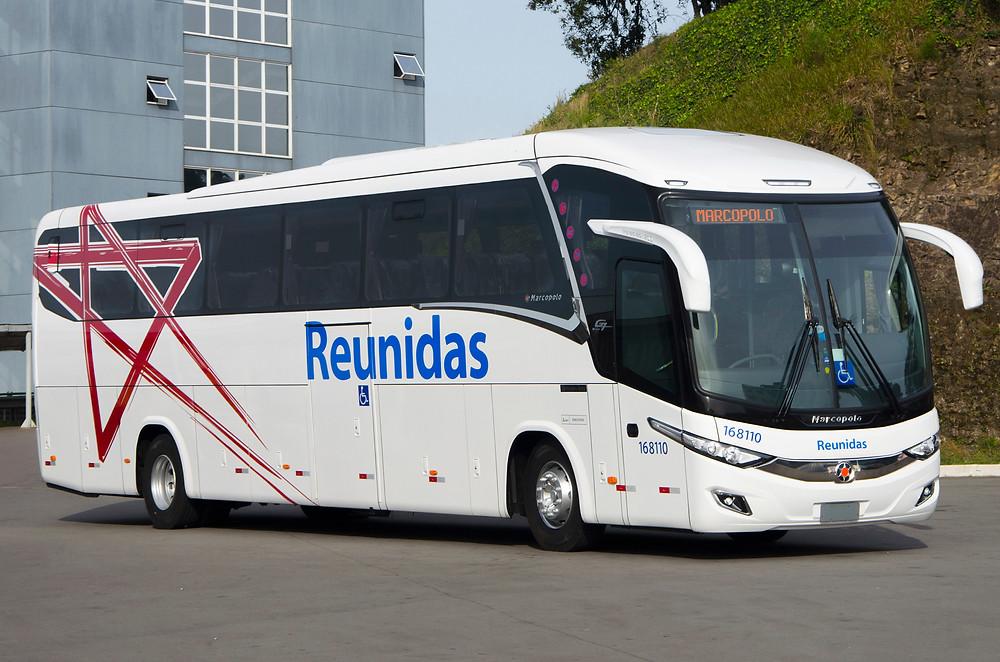 Reunidas Adquire 20 novos ônibus Marcopolo do modelo Paradiso 1200