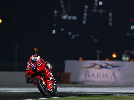 MotoGP: Miller lidera dupla da Ducati no primeiro dia no deserto
