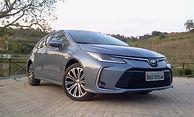 Próxima avaliação:  Toyota Corolla  Versão hibrida do sedã japonês deixou elemais sofisticado e muito econômico
