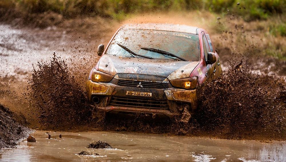 Chuva e piso escorregadio marcam a segunda etapa da temporada 2018 da Mitsubishi Cup