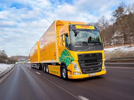 Caminhões: DHL inicia testes com um Volvo FH elétrico na Europa