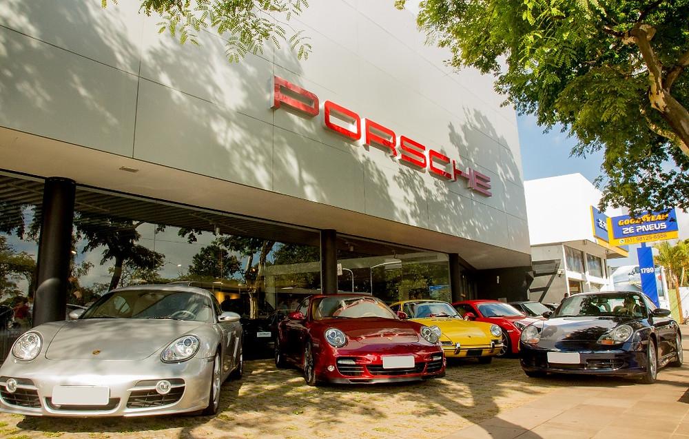 52 Porsches estiveram juntos no Route Tour Porto Alegre-Bento Gonçalves