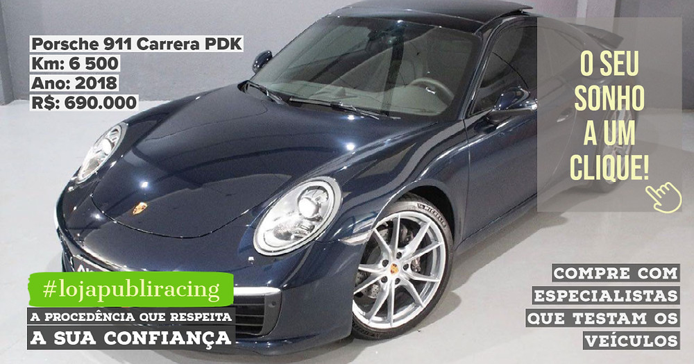 ACESSE #LOJAPUBLIRACING CLICANDO - Porsche 911 Carrera PDK