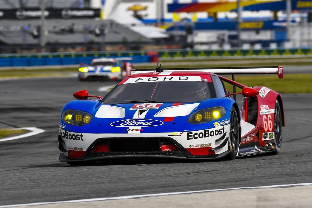 Nas 24 Horas de Daytona, equipe Ford GT vive mais um dia de glória na GTLM