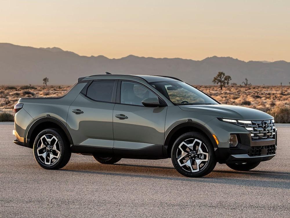Expressas: Hyundai revela Santa Cruz 2022