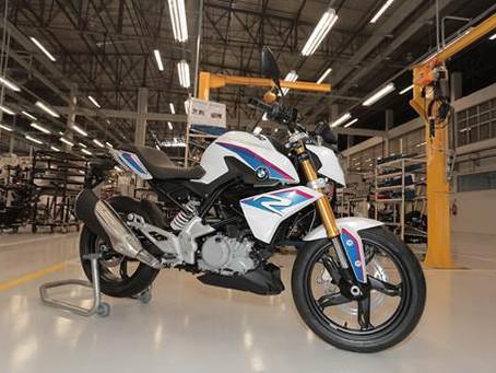 Nova BMW G 310 R começa a ser produzida em Manaus