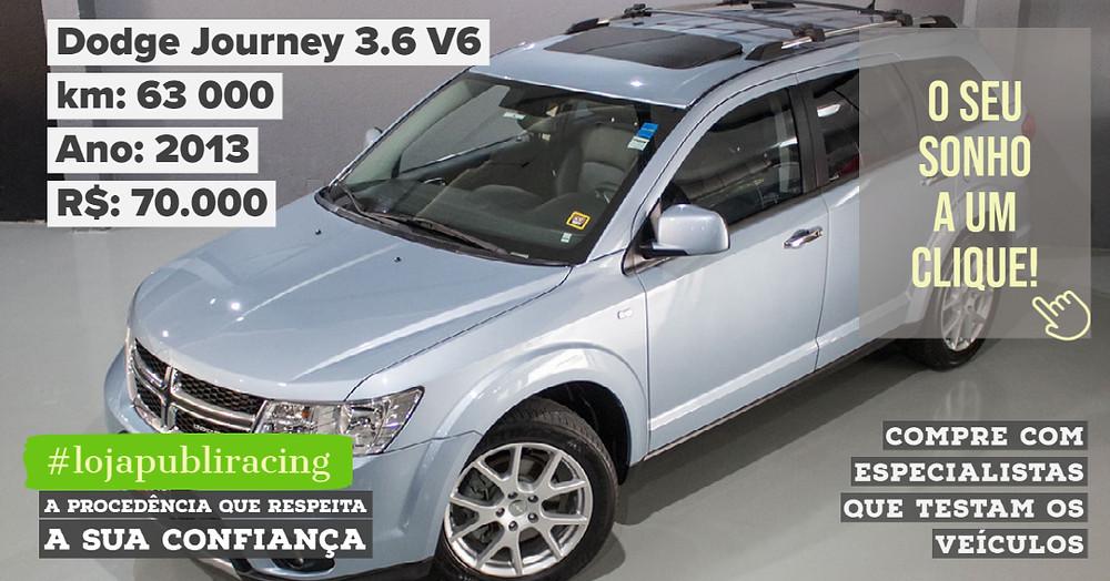ACESSE #LOJA PUBLIRACING - Dodge Journey 3.6 V6 Ano 2013