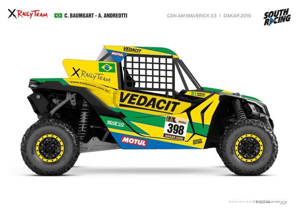 Dakar 2019: Equipe liderada pelos irmãos Baumgart, a X Rally Team inicia disputa do maior rali do mundo