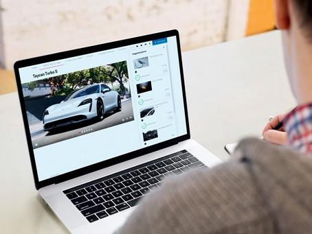 Inteligência artificial nos novos veículos da Porsche