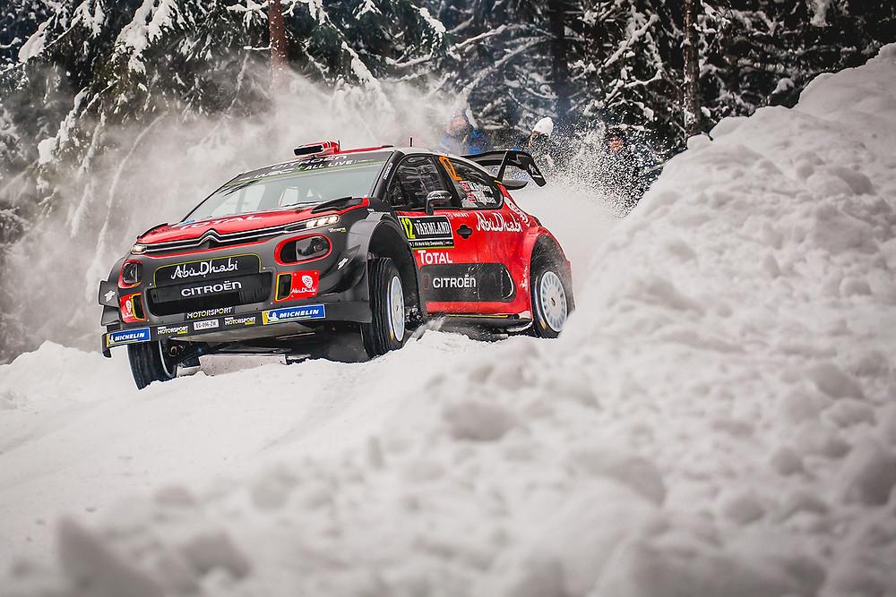 WRC: Citroën mostra evolução e disputa vitória na Suécia