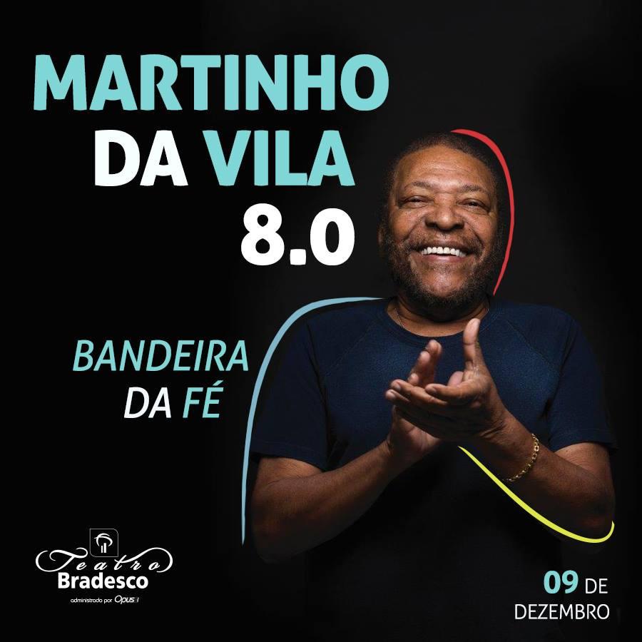 Martinho da Vila sobe ao palco do Teatro Bradesco, para celebrar 80 anos de vida e lançar o novo álbum