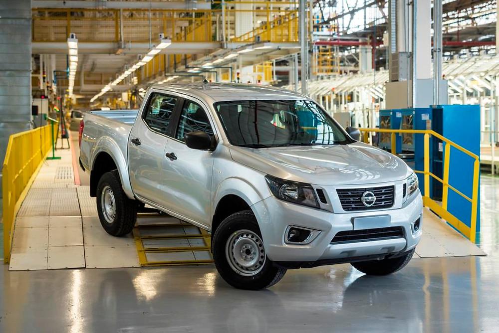 Nissan inicia produção da Frontier na Argentina