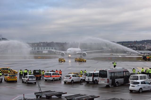 SWISS recebe o primeiro Boeing 777-300ER