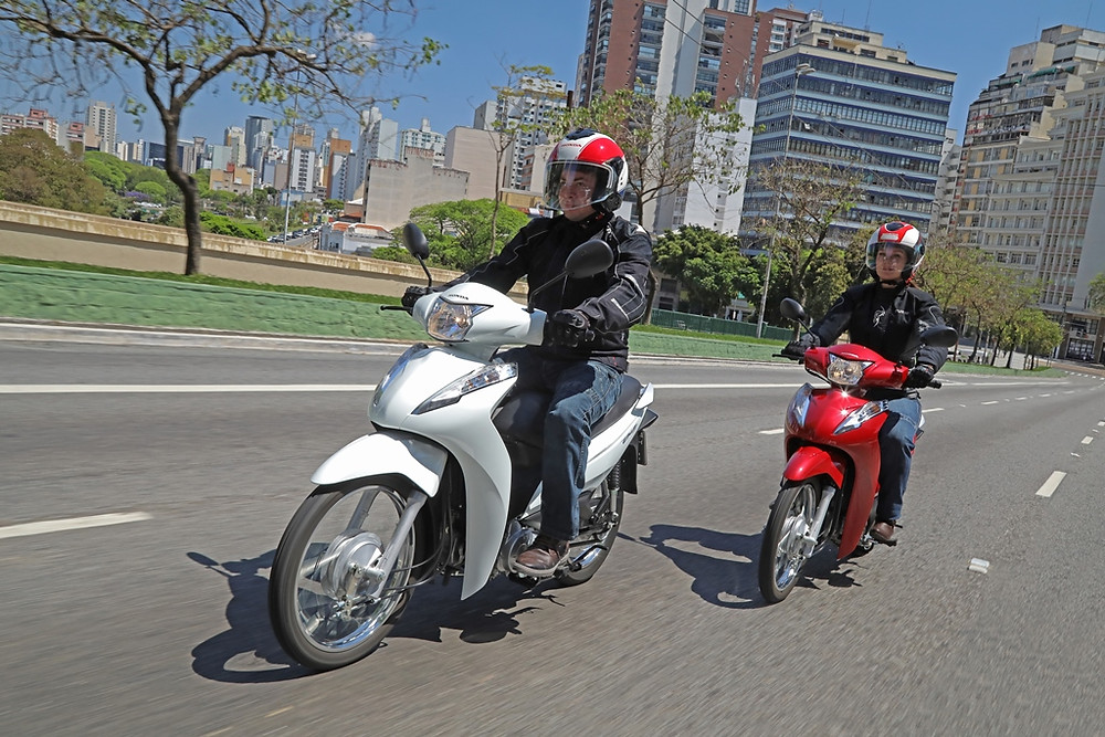Honda Biz 110i 2020 a praticidade do mundo duas rodas