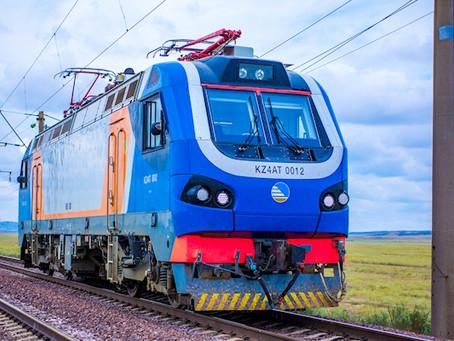 Locomotiva da Alstom preparada para climas extremos bate recorde de velocidade no Cazaquistão