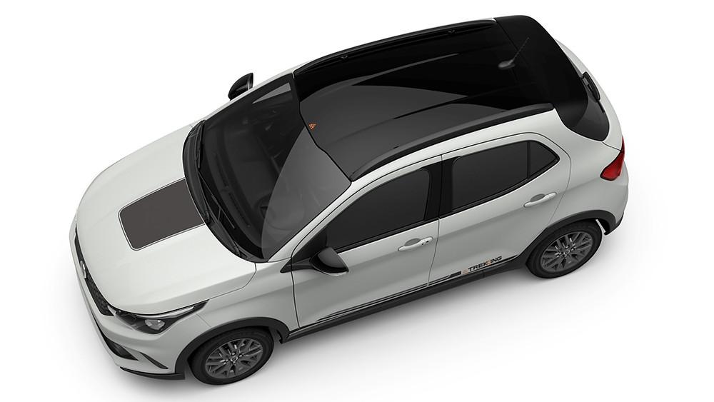 Fiat anuncia para abril a chegada do Argo Trekking, versão aventureira do hatch