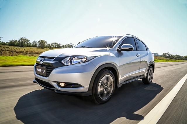 HR-V O grande responsável  pelo sucesso da Honda no Brasil