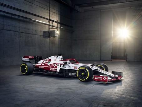 F1: Alfa Romeo Racing apresenta o novo C41 para a temporada 2021