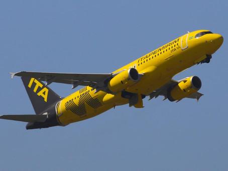 Segunda aeronave da Itapemirim Transportes Aéreos chega este domingo em Confins