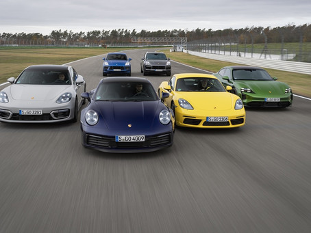 Sem crise, Porsche registra alta de 35% no mercado brasileiro em 2020