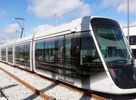 Em serviço o primeiro bonde da nova geração, Citadis X05 da Alstom