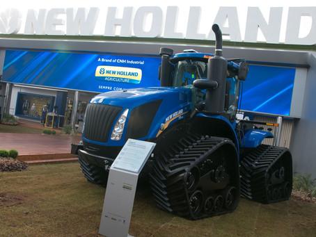 Agrishow 2019: New Holland leva soluções que vão do plantio à colheita