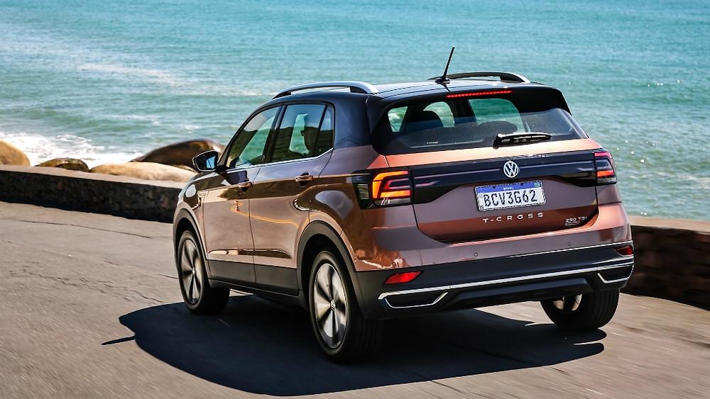 Volkswagen T-Cross recebe cinco estrelas no Euro NCAP