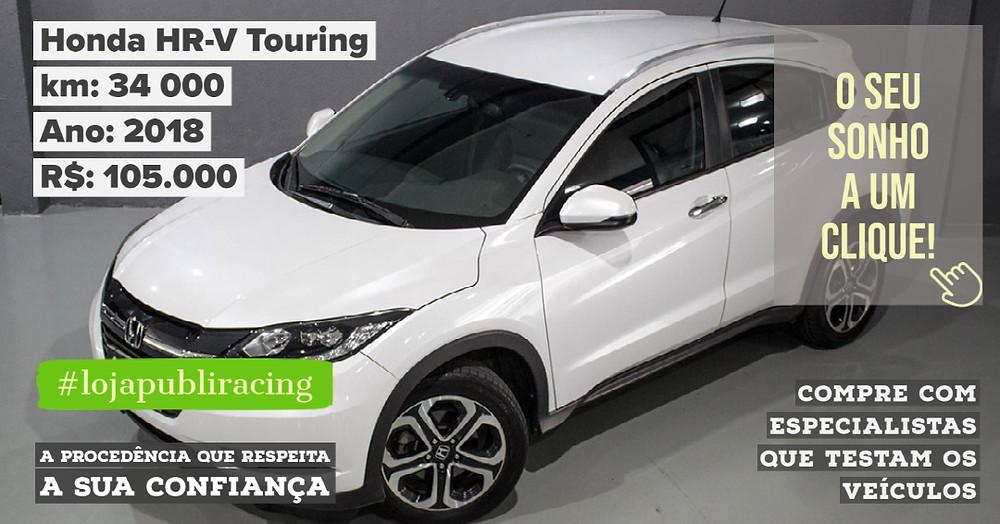 ACESSE #LOJA PUBLIRACING - Honda HR-V Touring 2018