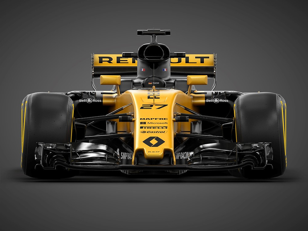 Apresentado o R.S.17 do Renault Sport Formula One Team