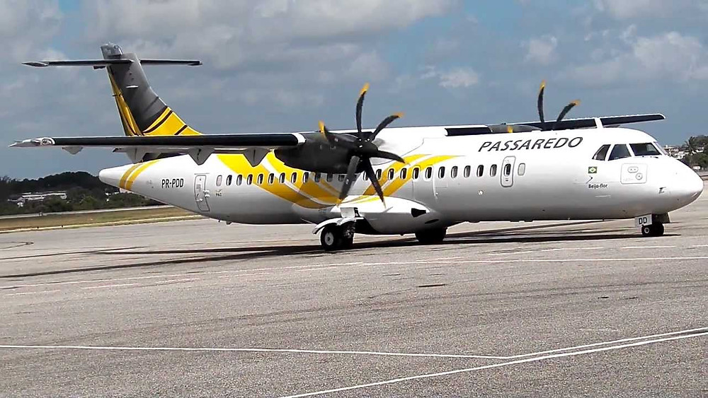 Passaredo Linhas Aéreas oferece passagens com até 90% de desconto