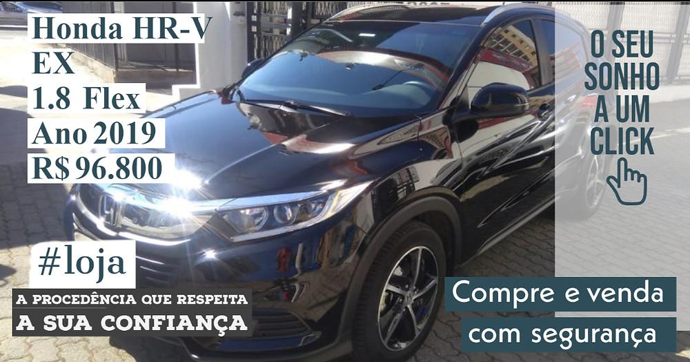 A#LOJA PUBLIRACING - Honda HR-V EX 1.8 Flex
