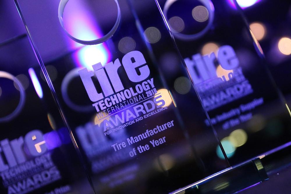 """Bridgestone eleita a """"Fabricante de pneus do Ano"""" no Tire Technology International Awards"""