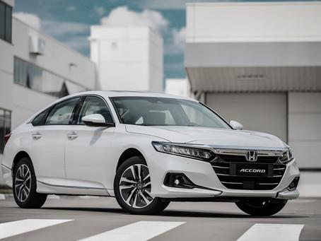 Honda apresentou o novo Accord híbrido, o primeiro modelo da marca com tecnologia e:HEV no Brasil