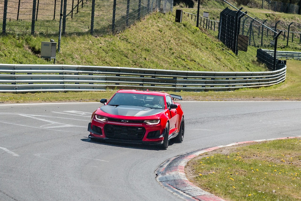 Novo Camaro Zl1 bate recorde da anterior versão em Nürburgring