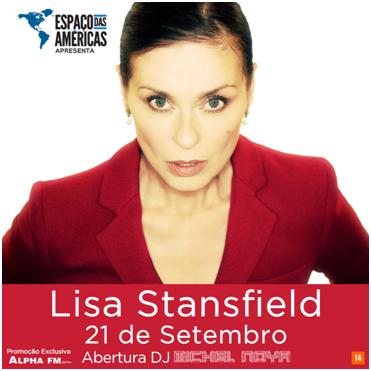 Espaço das Américas recebe única apresentação de Lisa Stansfield no Brasil