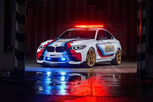 BMW M2 é o novo safety car da temporada 2016 da MotoGP