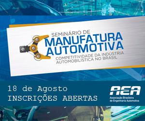 AEA realiza seminário sobre a necessidade de retomada da manufatura automotiva brasileira.