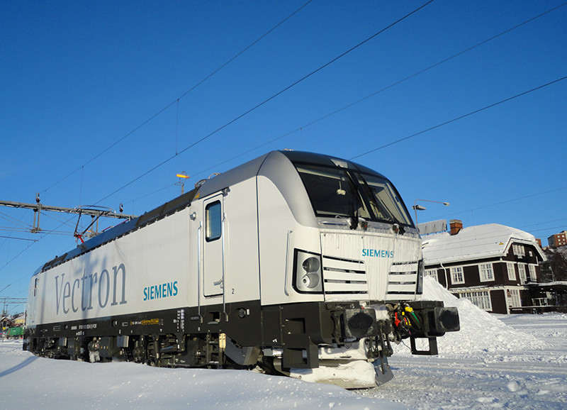 Siemens supera as 500 locomotivas elétricas Vactron