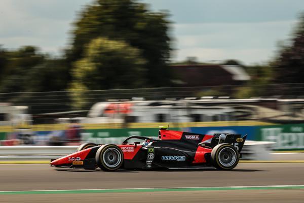 F2: Felipe Drugovich termina em 7º corrida de sábado