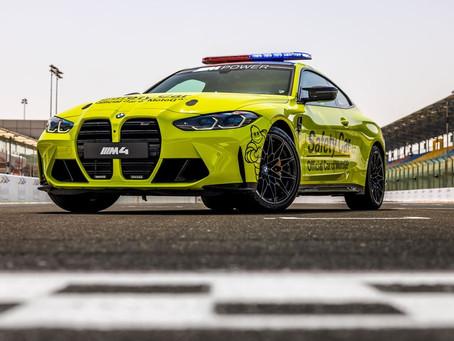 BMW M apresenta a nova frota de carros de segurança para a MotoGP 2021