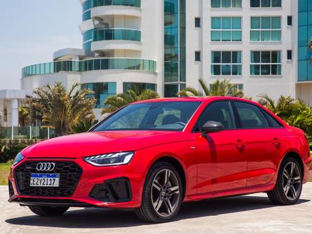 Novo Audi A4 chega nas concessionárias em três versões e a partir de R$229.990