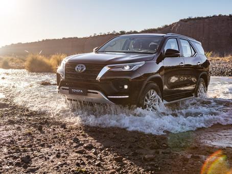 Toyota apresentou atualizações na linha 2021 da SW4