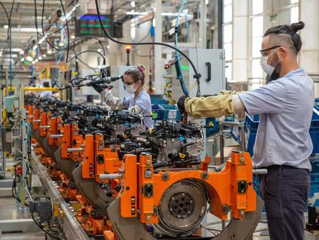 Fábrica da GM em Joinville atinge a marca de um milhão de motores produzidos