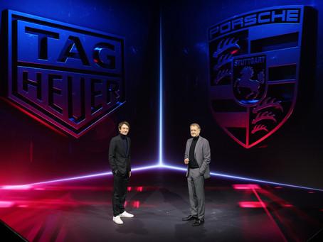 Porsche e TAG Heuer firmam parceria estratégica