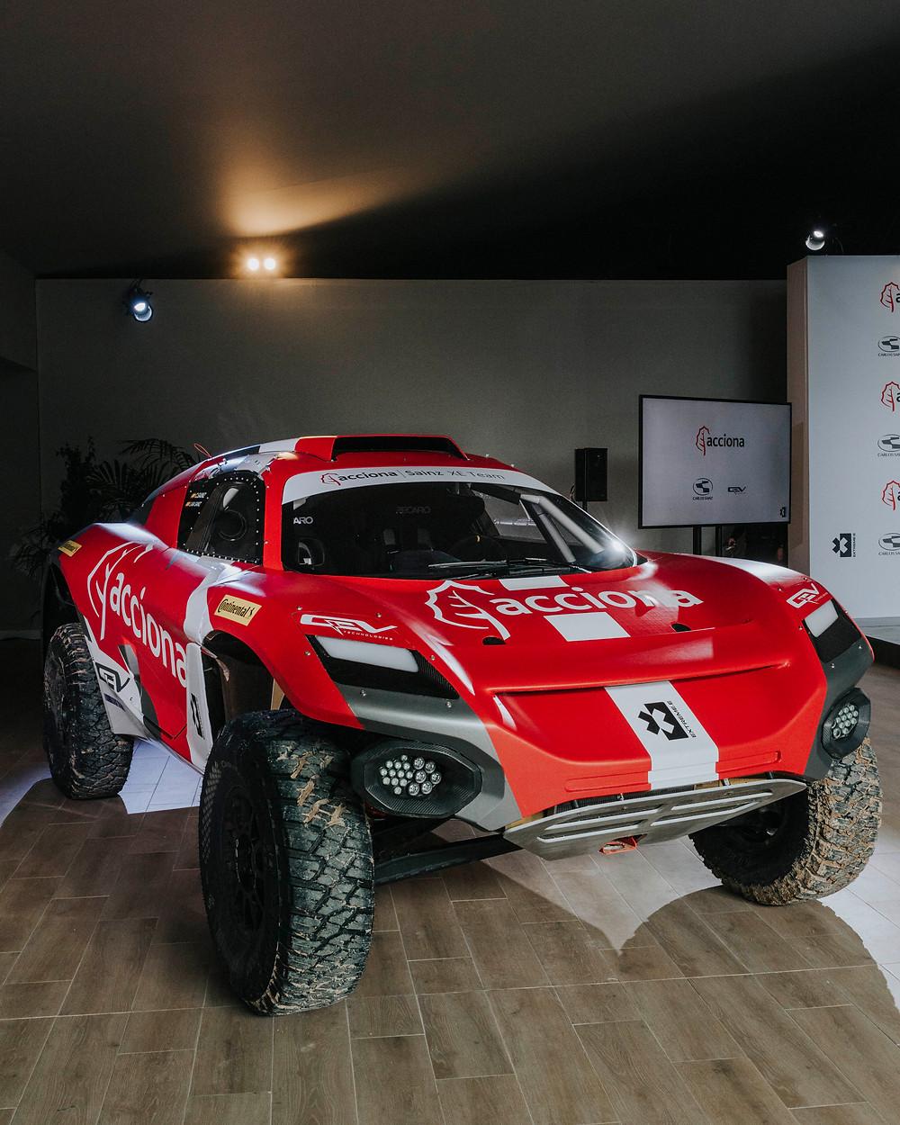 Equipe Acciona Sainz XE, estreia no campeonato off-road Extreme-E em disputa na Arábia Saudita
